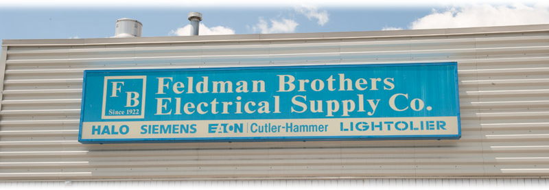 Pick up your Feldman Brothers Electrical Supply Co. order